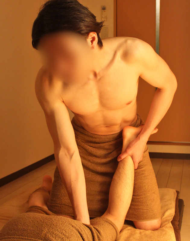 うたたねゲイマッサージ広島店スタッフ向井祥吾